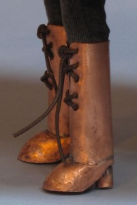 Time Keeper's copper boots