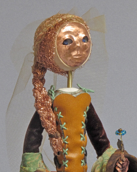 art doll Lady of the wood