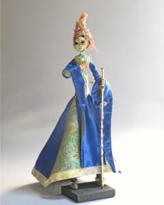 Mirro Mask art doll