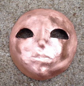 Copper face after shaping and polishing