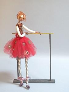 art doll Barre-ing Degas