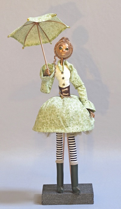 image of art doll Spring