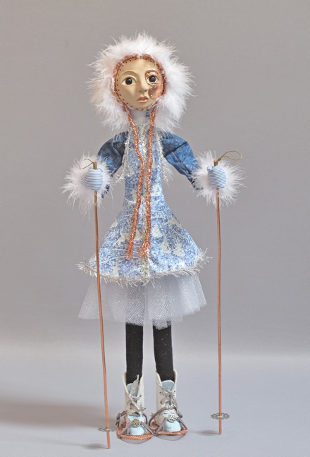 art doll titled Snow Day