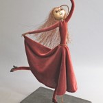 Dancer art doll titled Joy