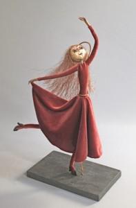 Dancer art doll titled Joy
