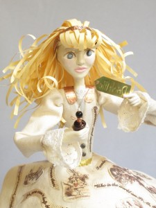 detail of Paper Alice