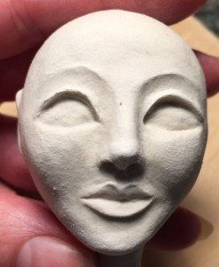 paperclay head
