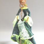 "image of art doll ""Vasilisa"" standing figure sculpture in transformation."
