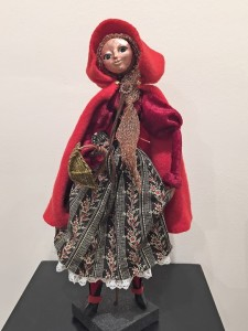Red Riding Hood art doll figure sculpture