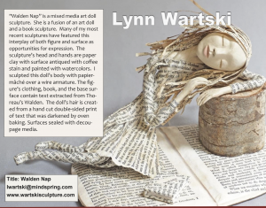 screen shot of Walden Nap in International Doll Artists magazine inaugural issue