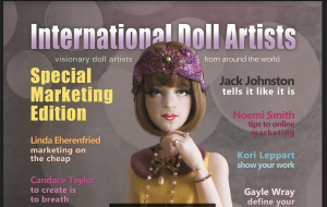 top half of International Doll Artists vol1