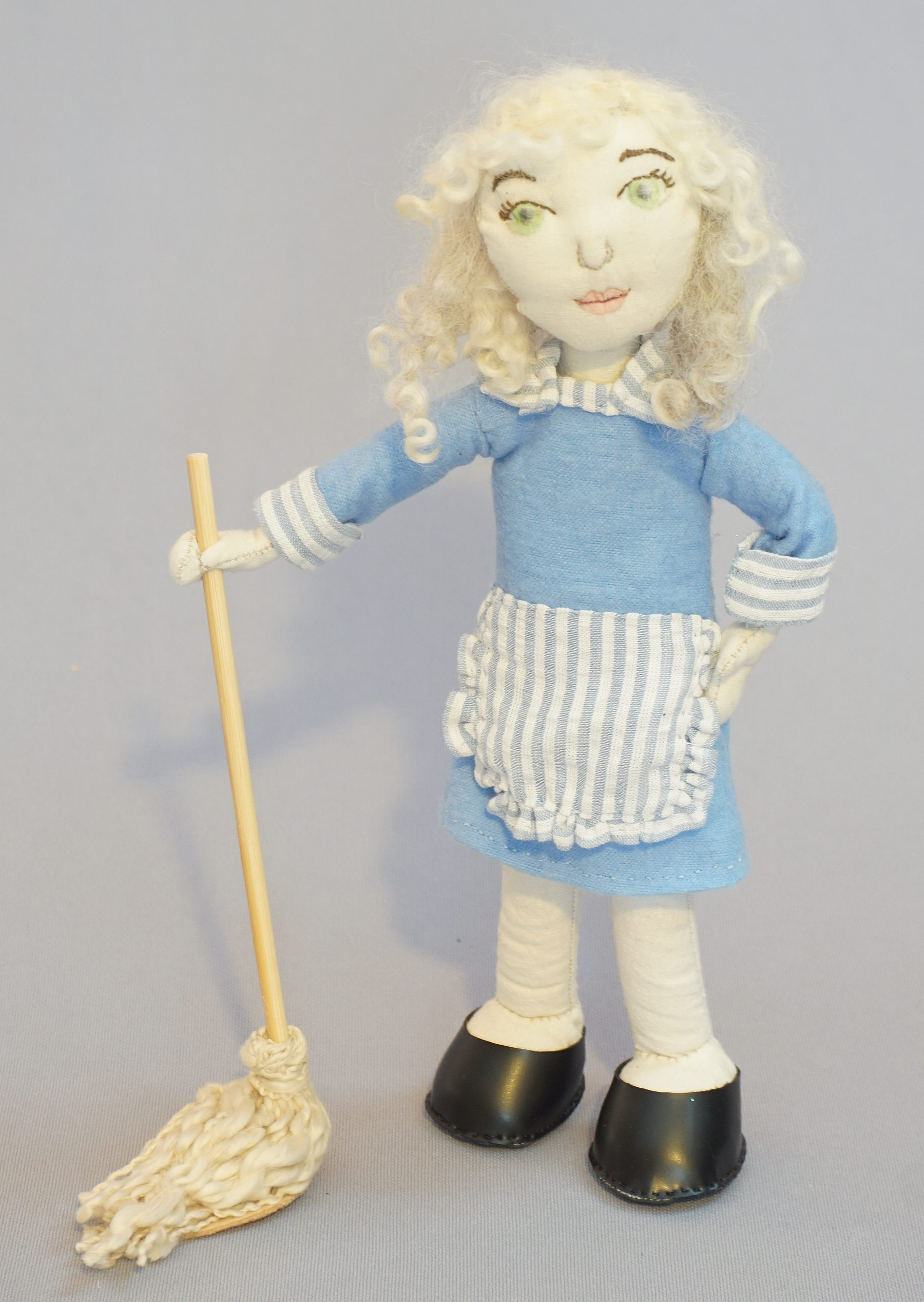 "Doris art doll for ""It's All About the Story"""