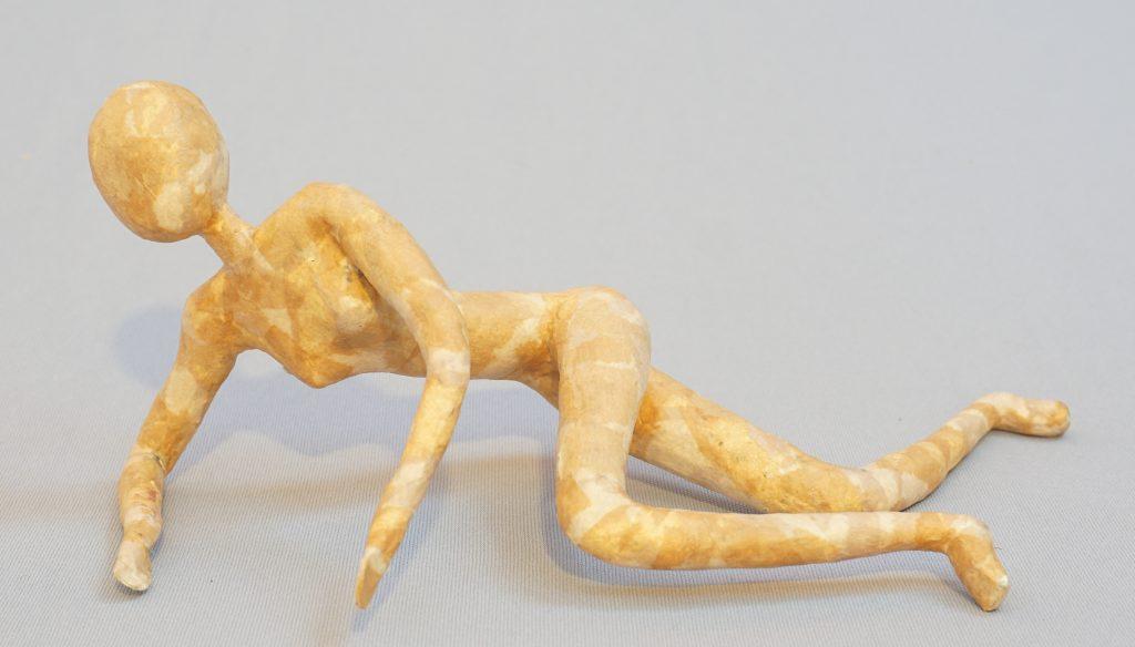 Recline - figure sculpture