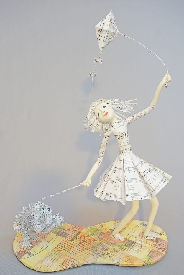 Prudence art doll sculpture