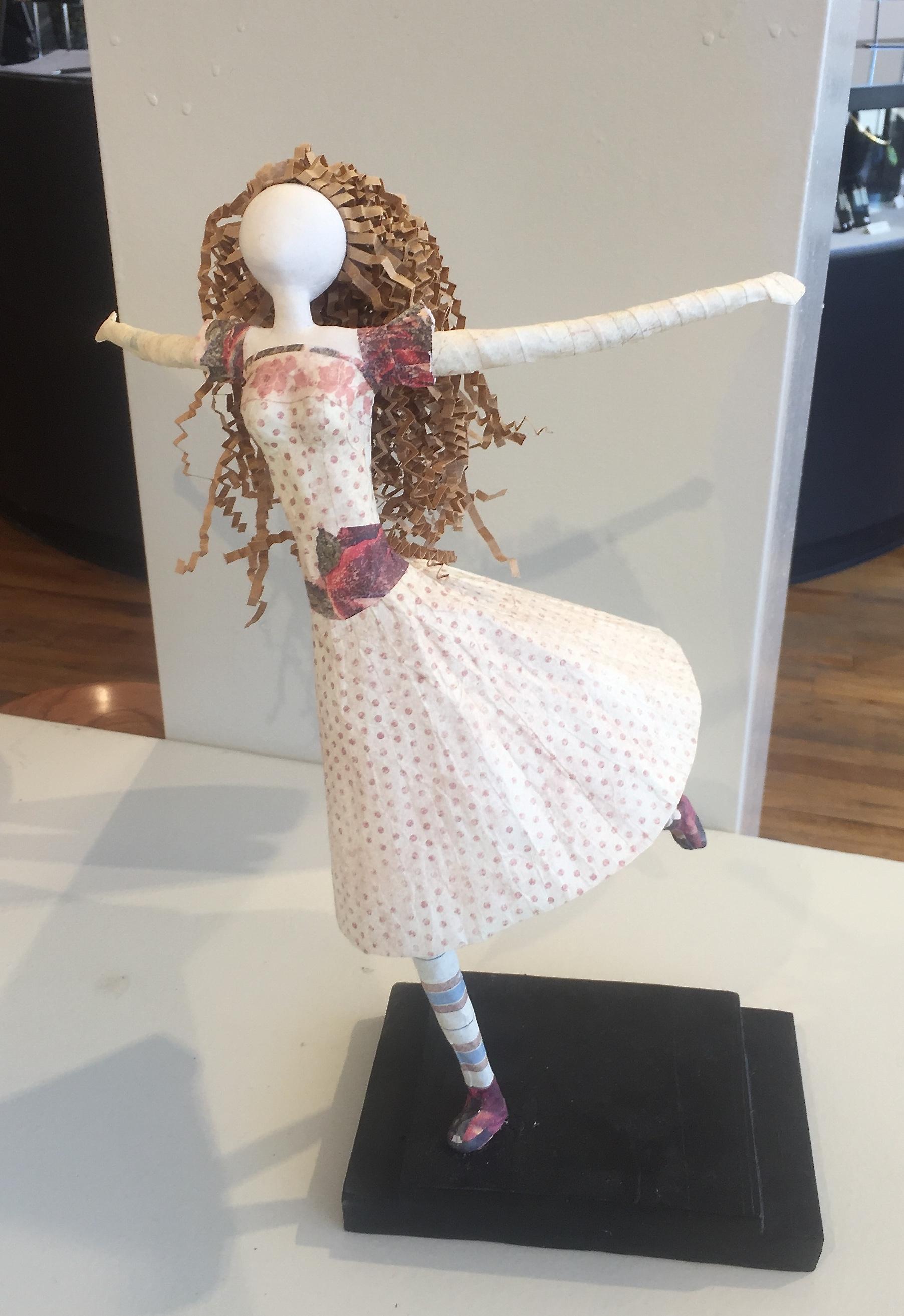 Running Free figure sculpture