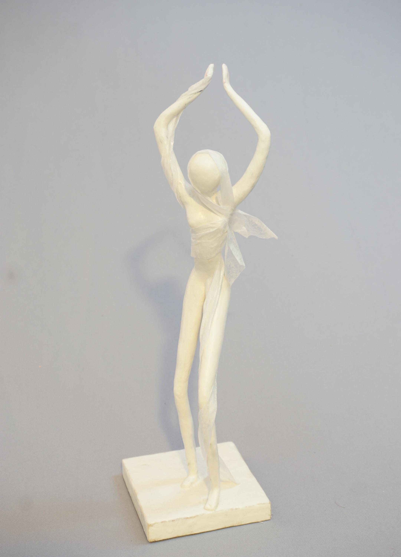 minimal dancing figure art doll sculpture