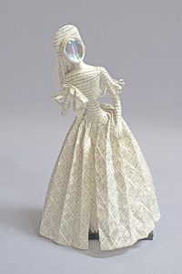 art doll book sculpture titled Boleyn's Ghost