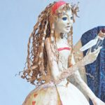Paper Alice II is an Alice in Wonderland inspired art doll