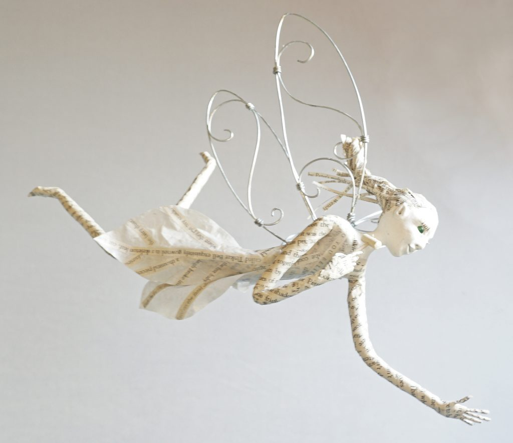 Tinker bell inspired art doll sculpture figure