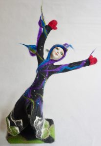 Aurora Dancing art doll