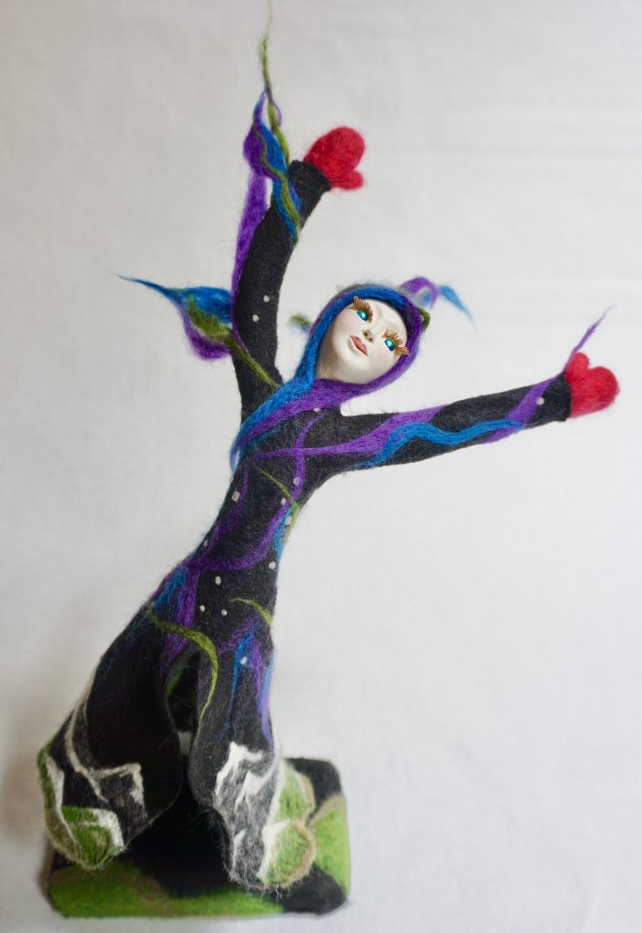 Aurora Dancing art doll