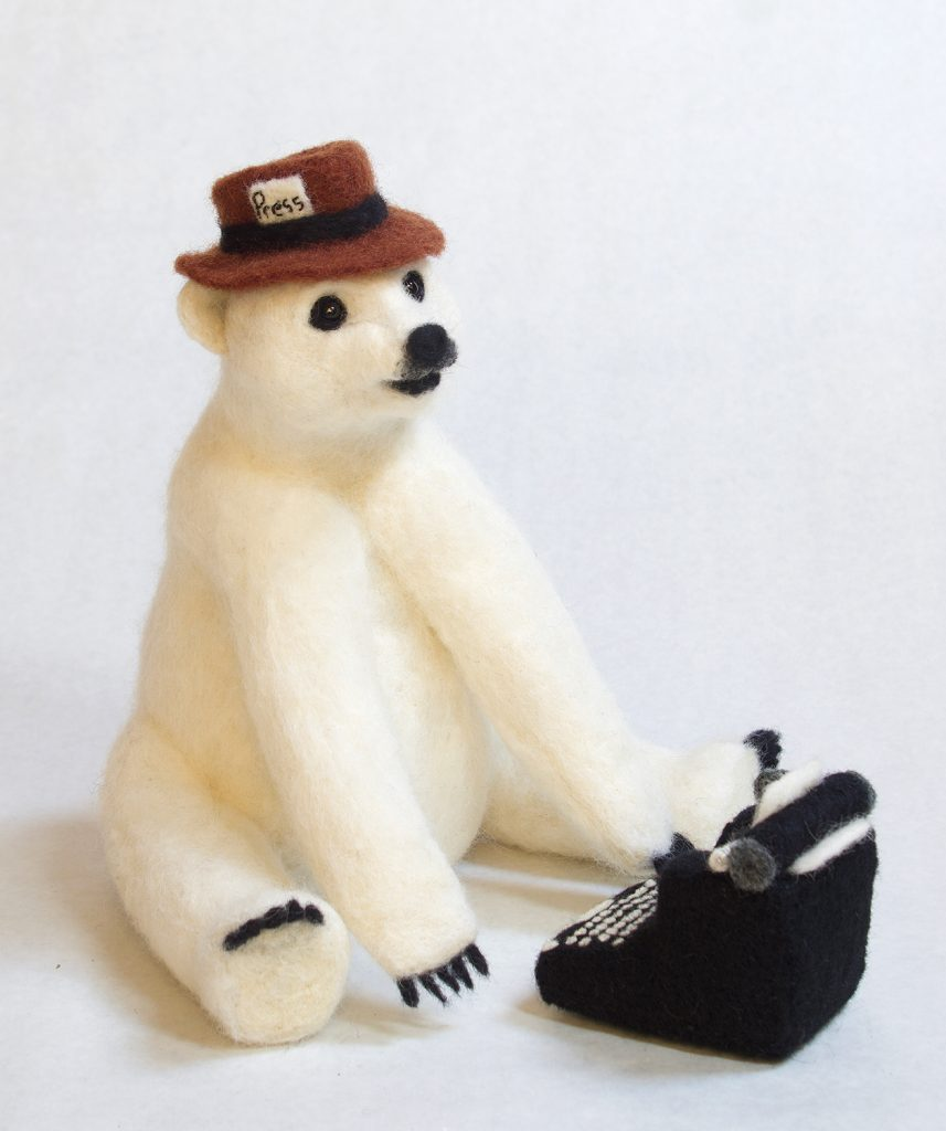 Climate Report anthropomorphic art doll
