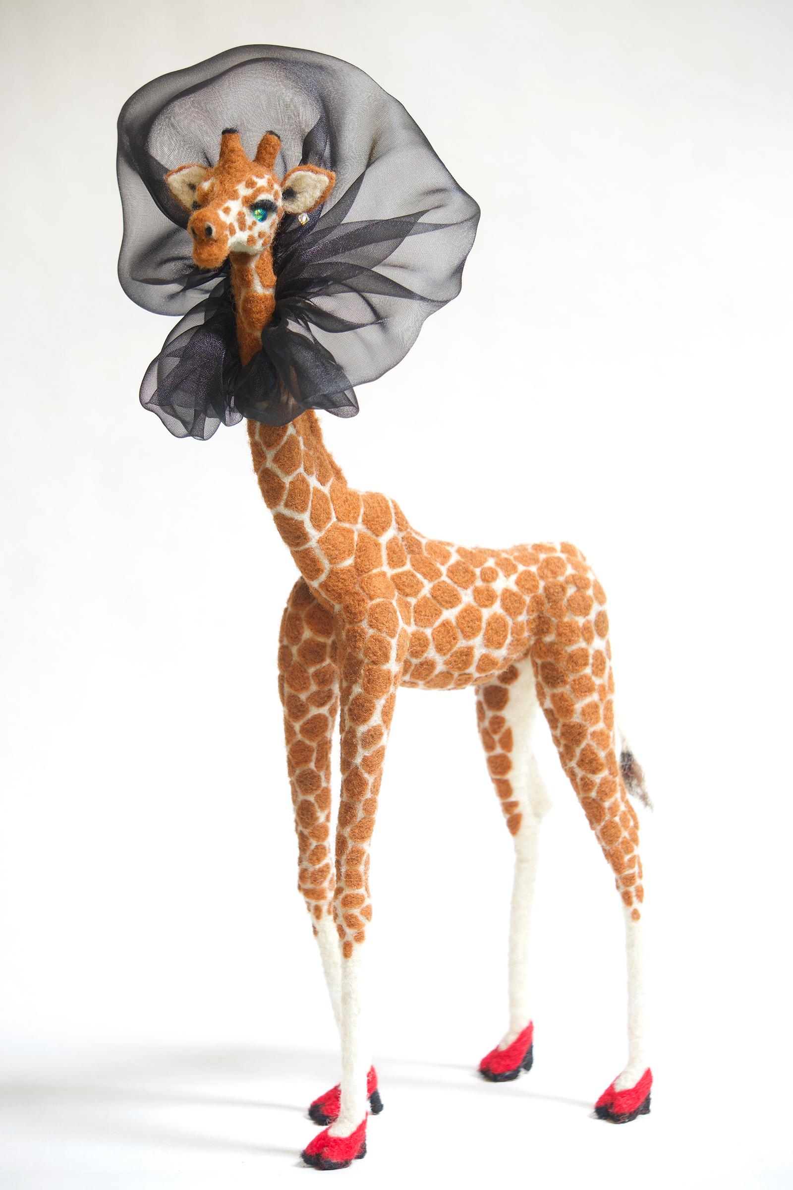 High Fashion anthropomorphic art doll