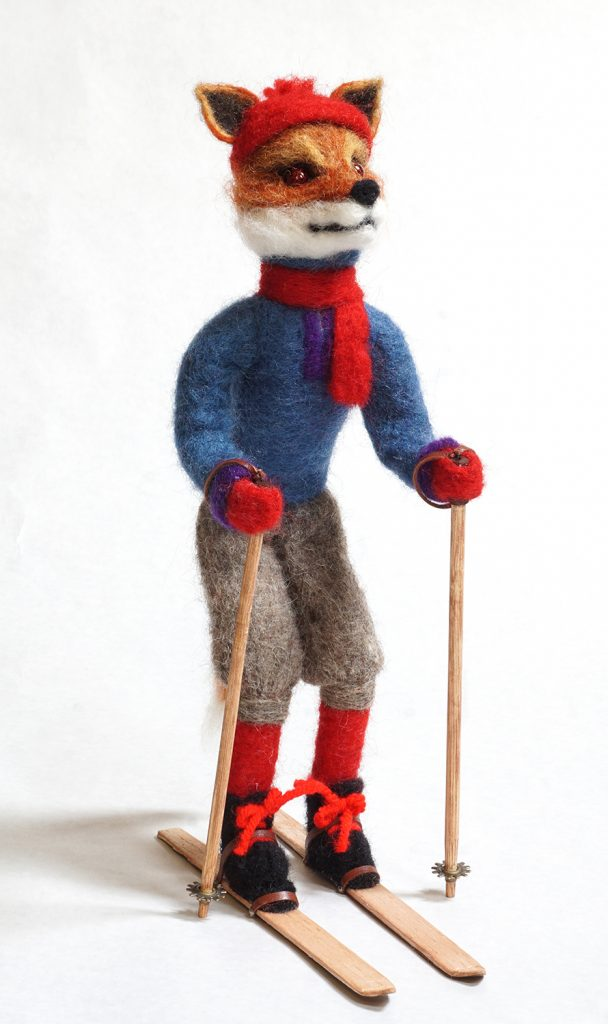 Pierre anthropomorphic art doll