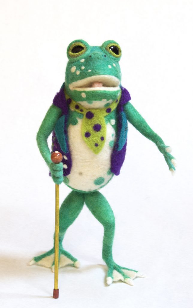 Stroll anthropomorphic art doll