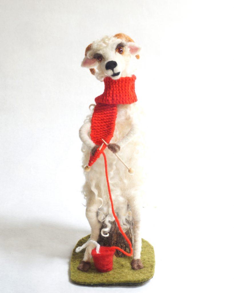 DIY anthropomorphic art doll